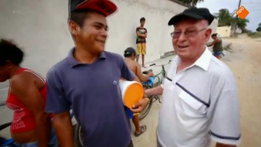 Pater Jan van D werkt nu voor een weeshuis in Brazilie
