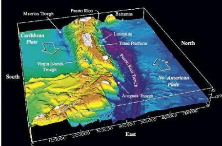 Ook Caribische eilanden moeten rekening houden met Tsunami