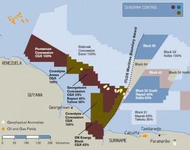 Olieruzie Guyana en Venezuela begint weer