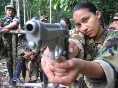 FARC guerrillastrijders