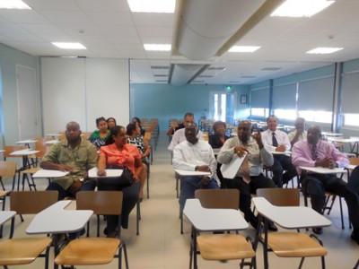 De Universiteit van Curaçao (UoC) opend leslokaal dankzij donatie van Isla