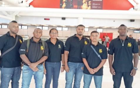 De Curaçaose karateselectie is donderdag afgereisd naar Martinique voor de Martinique Open   Foto Curaçaose Karate Bond