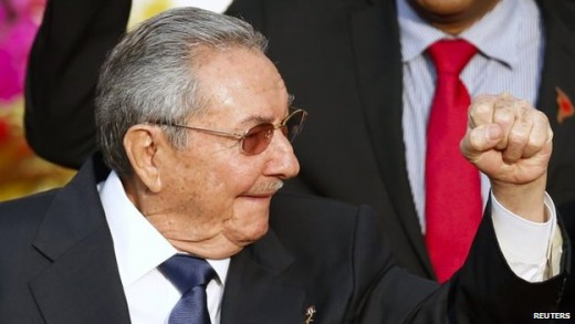 Raul Castro lent strong backing to the Venezuelan leader, Nicolas Maduro | foto Reuters