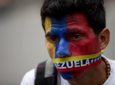 In delen van Venezuela blijven protesten voorkomen