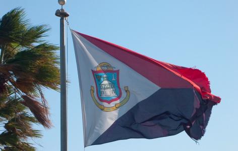 vlag sint maarten-sxm