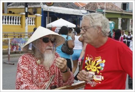 In memoriam Hans Vaders op 1 augustus in Bloemhof   Foto Persbureau Curacao