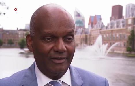 Minister van Justitie Dennis Richardson van Sint-Maarten: wij hebben elkaar nodig