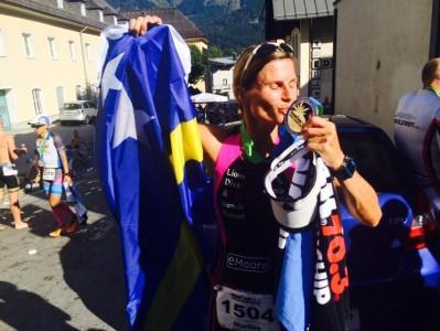 Marlies Kort wint wereldkampioenschap in Oostenrijk