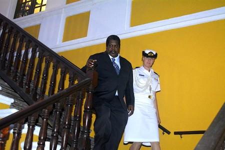 Whiteman nieuwe premier Curaçao  | Foto Persbureau Curacao