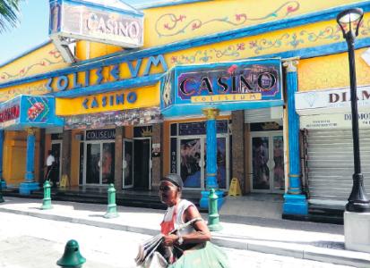 Casino's op Sint Maarten...