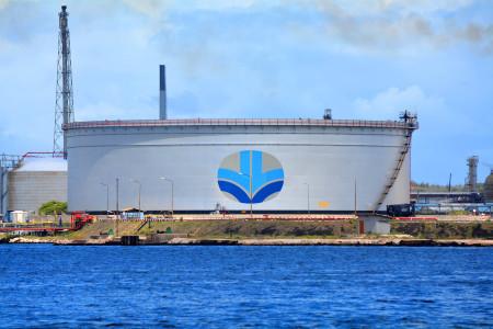 raffinadrij ISla PDVSA   Persbureau Curacao