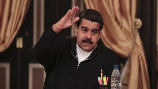 """President Nicolas Maduro was in an unforgiving mood on Tuesday night, calling the latest companies to end or scale down operations in Venezuela """"bandits"""" who are taking orders from the U.S. government. 