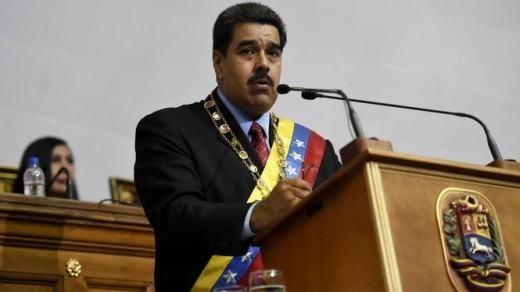 De president van Venezuela Nicolás Maduro. | © AFP