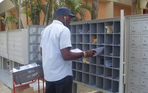Community Mailbox van CPost   foto: José Manuel Dias