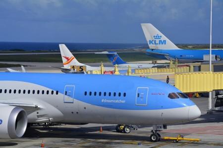 KLM zonder tussenstop naar Curacao