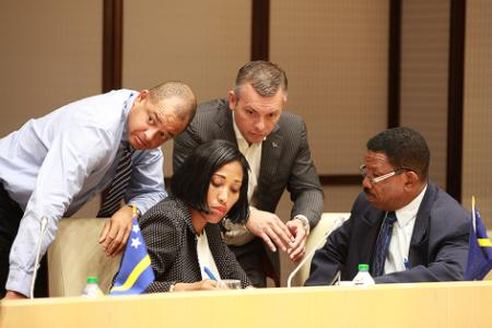 Te lage opkomstbij vergadering oververoordeelde Statenleden | Foto MFK