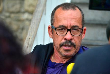 Babel advocaat Eldon Peppie Sulvaran laat het afweten | Foto Persbureau Curacao