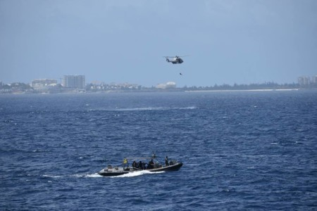 Kustwacht 128 coke-cocaine | Foto Defensie Caribisch Gebied