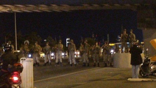 Turkije-staatsgreep-leger