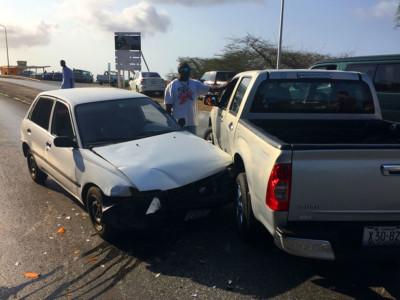 Inter-assure zegt Automobilisten op Curaçao zijn brokkenmakers | Foto Persbureau Curacao