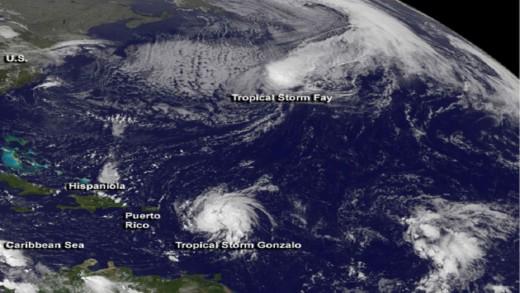 PBC   Meer stormen verwacht in orkaanseizoen
