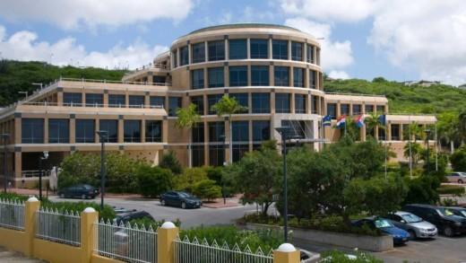 Centrale Bank van Curaçao en Sint Maarten (CBCS)    foto: HH