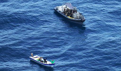 Kustwacht onderschept drugs op zee bij Aruba