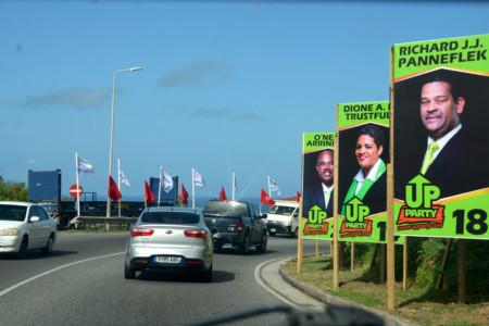 Nieuwe partijen proberen kiesdrempel te halen