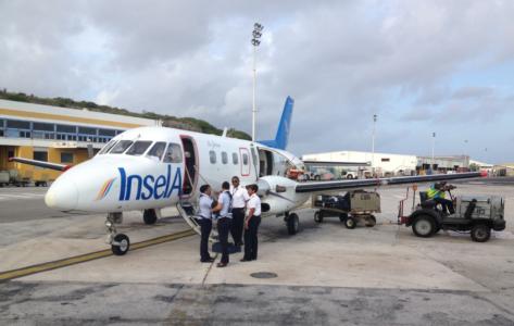 ot eind oktober minder vluchten Insel Air ABC-eilanden | Persbureau Curacao