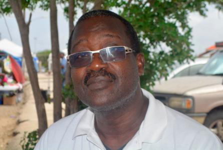 René Vincente Rosalia, politiek leider van Movementu Kousa Promé | Foto: Persbureau Curacao