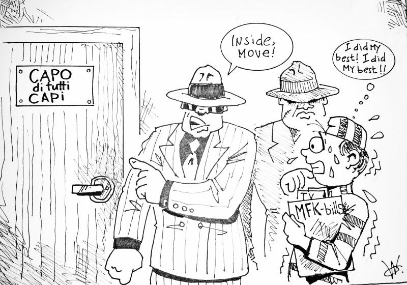 Verantwoording partijfinanciering | Cartoon Antilliaans Dagblad