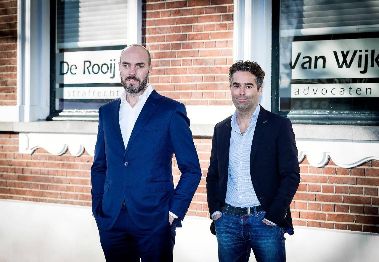 Stijn Flapper en Jules van Wijk (rechts) (Foto: Erik van der Burgt