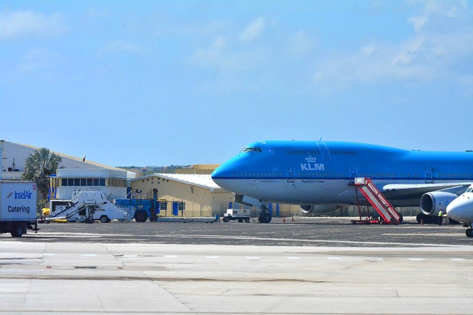 KLM-Lima opnieuw gestrand   Persbureau Curacao