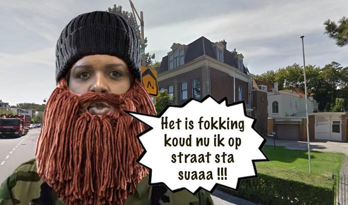 Niet alleen de krakers staan op straat.. | Cartoon Pa Stechi
