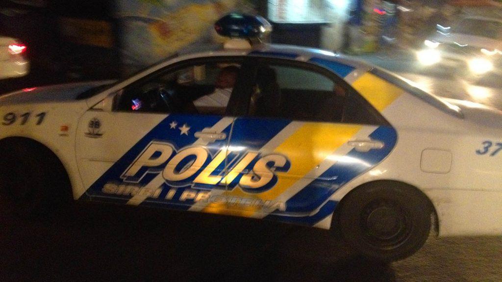 Politie extra alert | Foto Persbureau Curacao