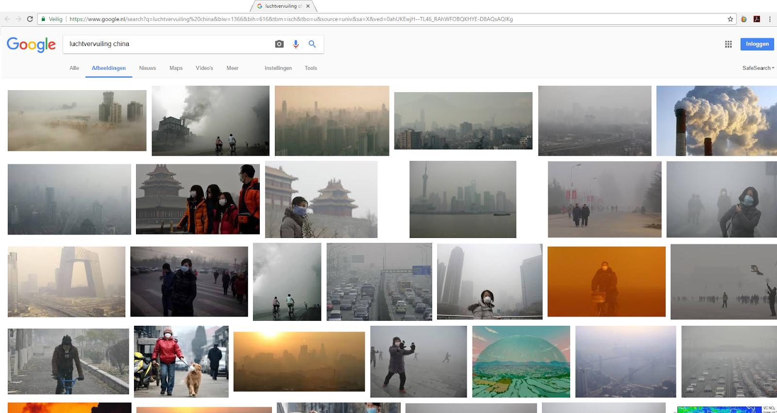 luchtvervuiling-google