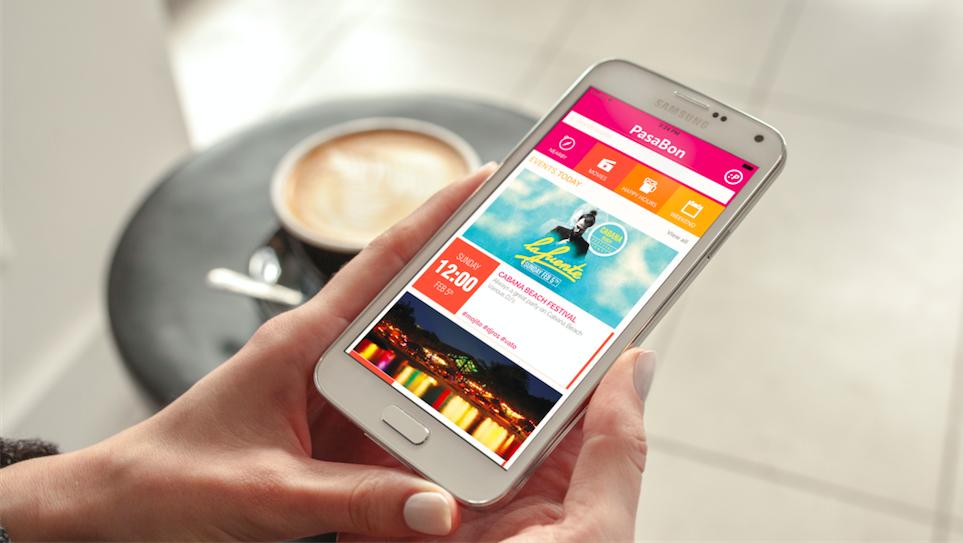 Pasabon-app on Samsung Galaxy