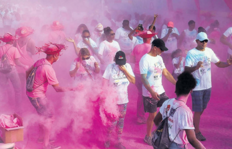 Color Walk 2016 was a great success again   Foto Extra
