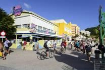 Winkelstraat op St. Maarten