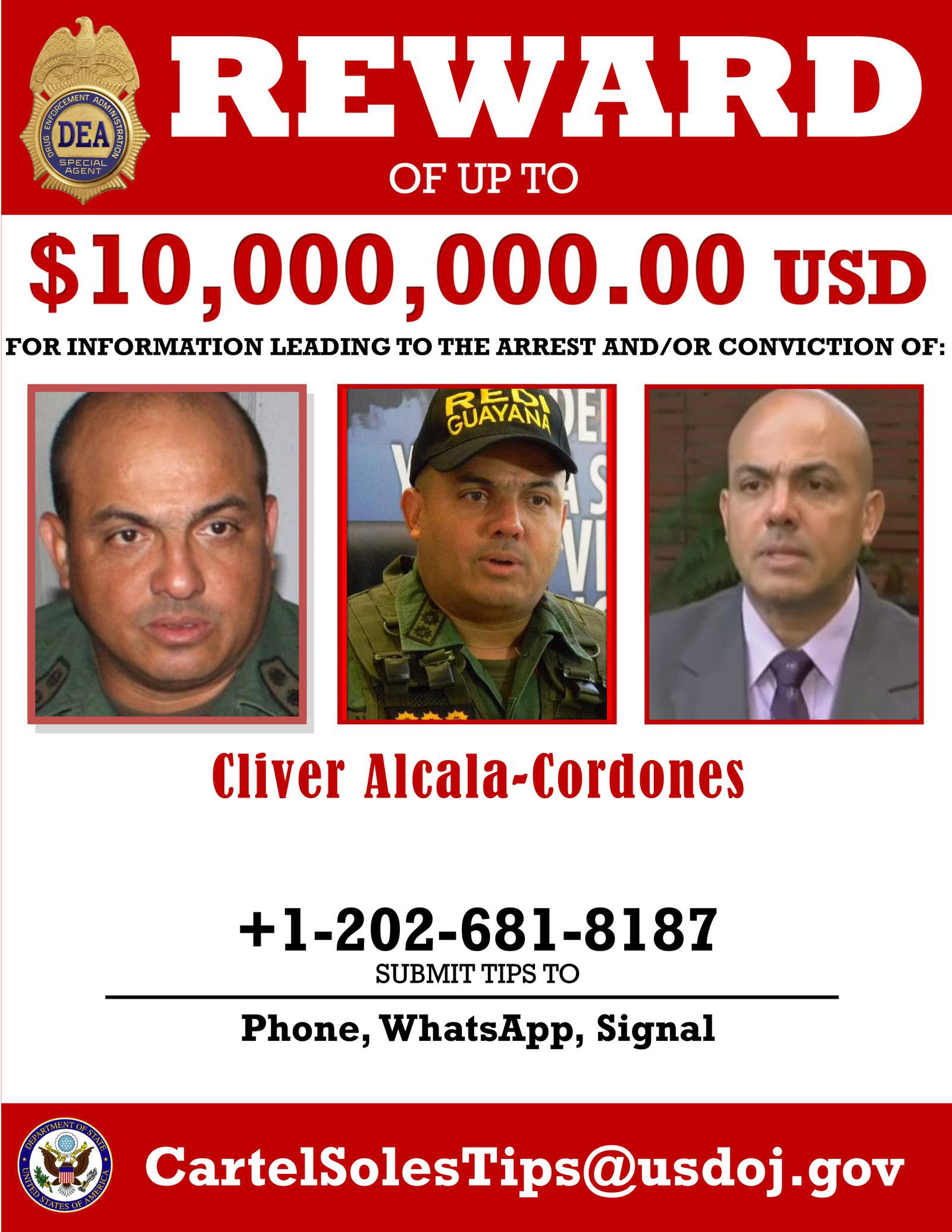 Swissinfo   Alleged Maduro accomplice surrenders to U.S. agents, will help prosecution