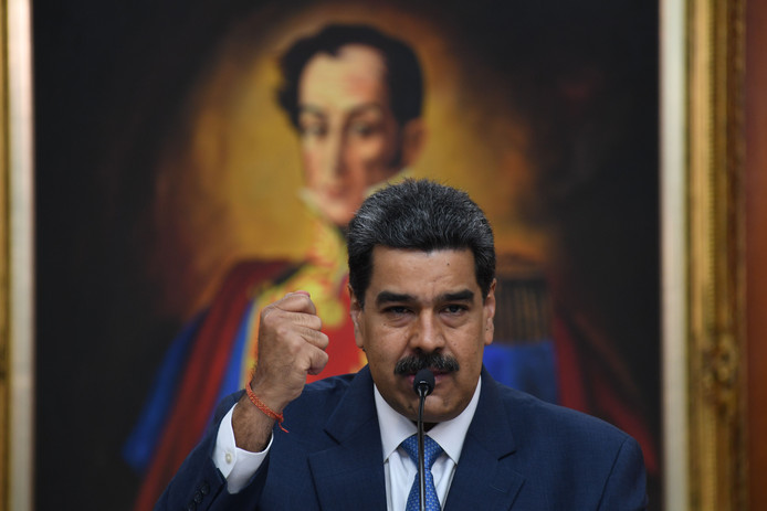 AlgemeenDagblad   Maduro: Trump is een ellendig mens en een racistische cowboy
