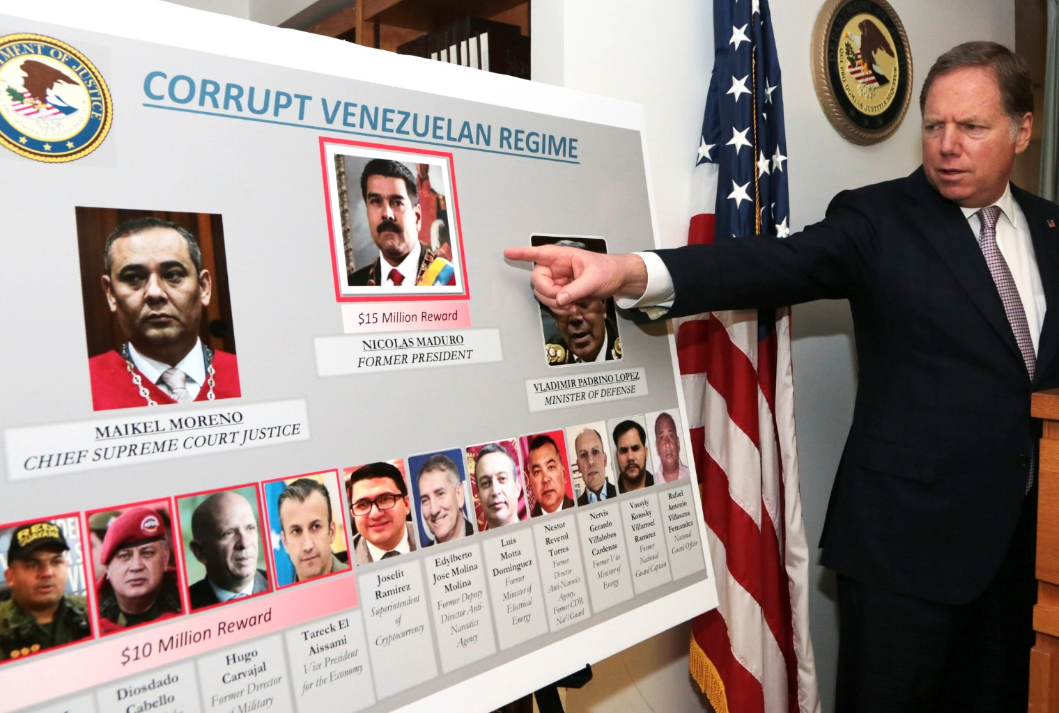 Aljazeera   Alleged Nicolas Maduro co-conspirator is in US custody
