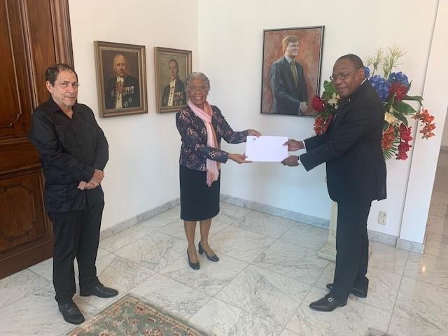 PB | Gouverneur ontvangt tussentijds verslag van informateurs