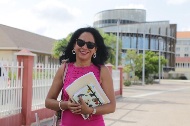 AntilliaansDagblad | Marisol Lopez-Tromp lijsttrekker MAS