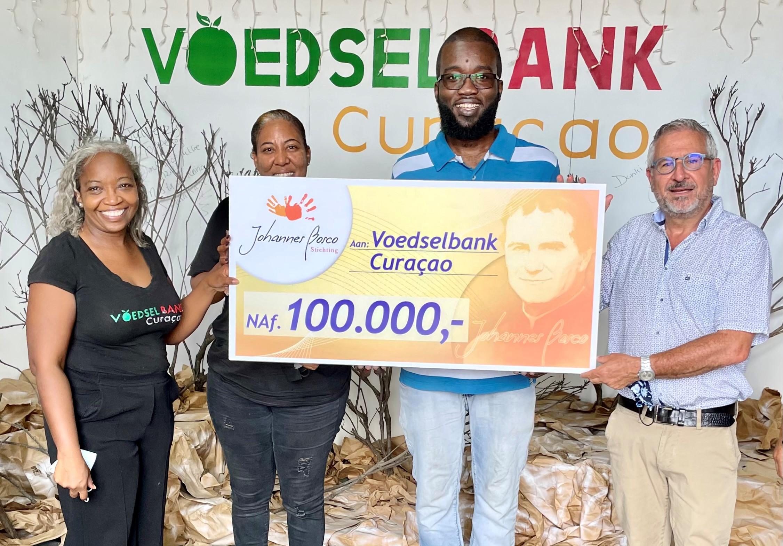 Nu.cw | Voedselbank Curaçao krijgt donatie van 100.000 gulden